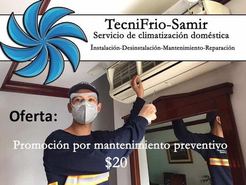 mantenimiento de aires acondicionados