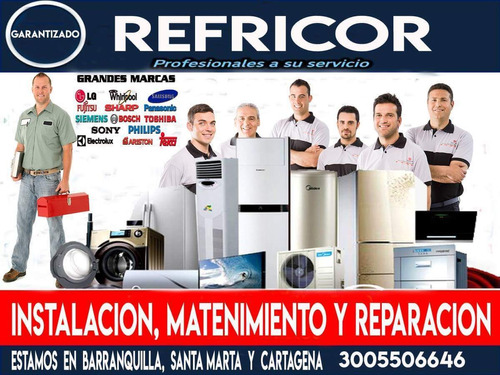 mantenimiento de aires, neveras, lavadoras