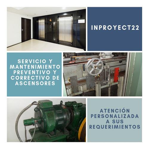 mantenimiento de ascensores, reparaciones y repuestos