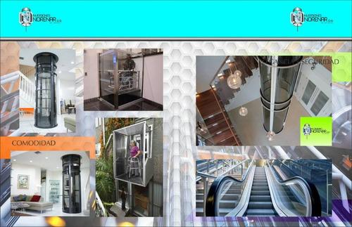 mantenimiento de ascensores y montacargas y modernizaciones