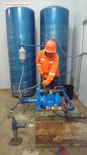 mantenimiento de bombas de agua a presion y sumergibles