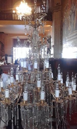 mantenimiento de candiles antiguos