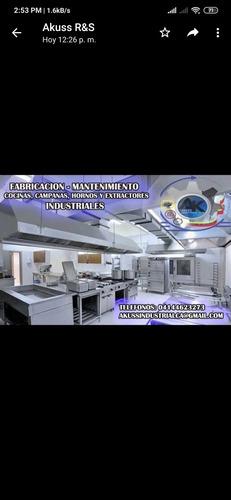 mantenimiento de cocinas comercial e industriales