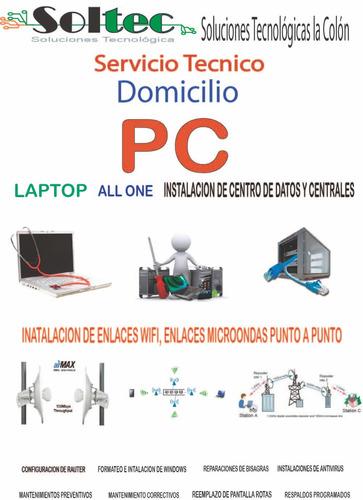 mantenimiento de computadoras, eléctrico, cctv, camaras