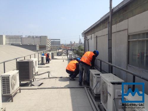 mantenimiento de equipo de aire acondicionado