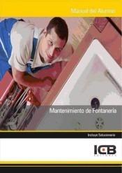 mantenimiento de fontanería(libro )