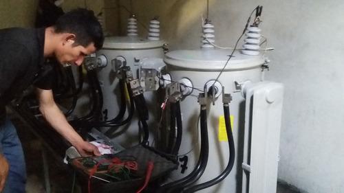 mantenimiento de generadores y proyectos eléctricos.