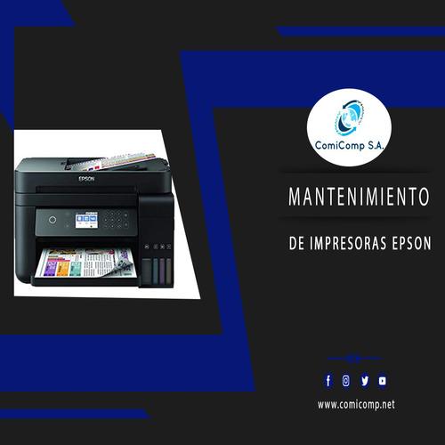 mantenimiento de impresoras epson