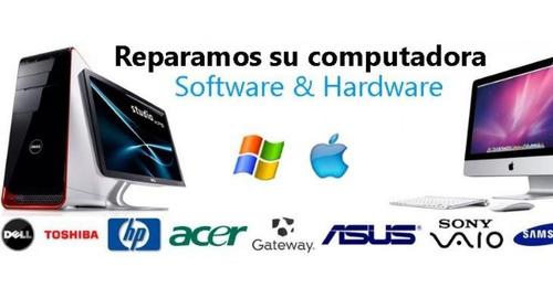 mantenimiento de pc de escritorio y laptop