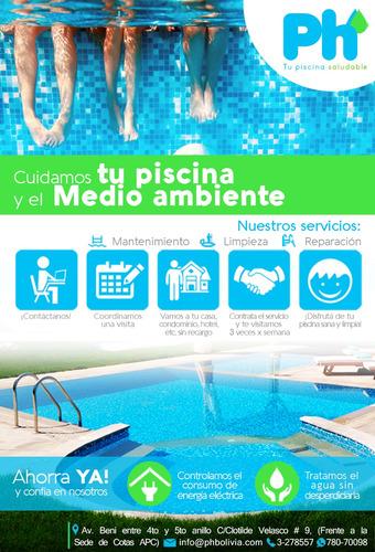 mantenimiento de piscinas  profesional