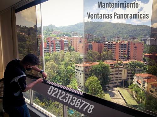 mantenimiento de puerta de vidrio ventana panoramica templex