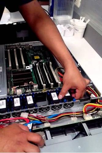 mantenimiento de servidores y computadoras
