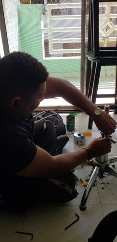 mantenimiento de sillas de peluquerías y oficinas de sistema