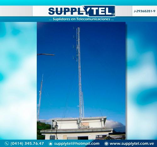 mantenimiento  de torres de transmisión fm wifi