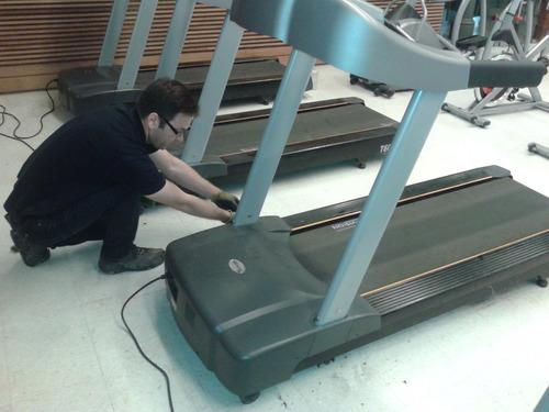 mantenimiento de trotadoras, gimnasios y máquinas fitness