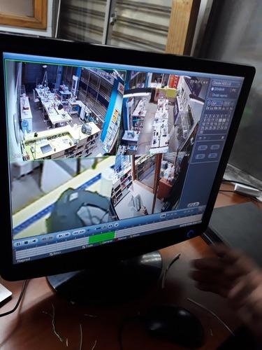 mantenimiento e instalación de camaras de seguridad