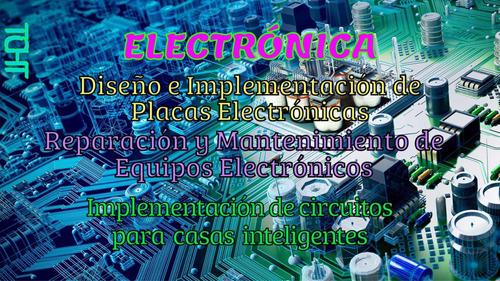 mantenimiento eléctrico, electrónico y mecánico