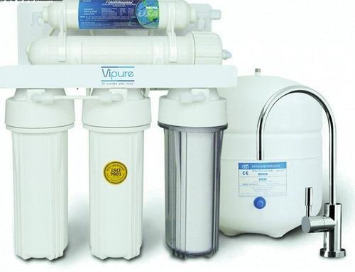 mantenimiento filtros purificadores de agua