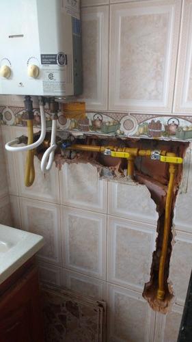 mantenimiento gasodomestico, fugas de gas.venta calentadores