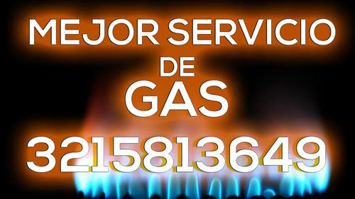 mantenimiento-instalación gas natural calentadores chimeneas