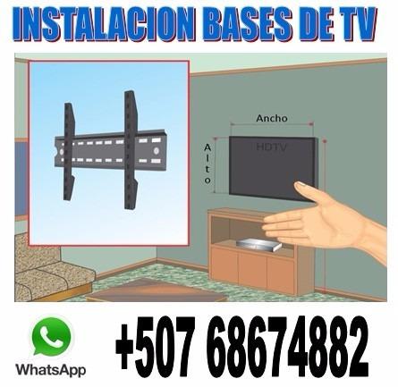 mantenimiento instalacion soporte tv lcd televisores plasma