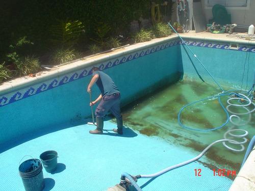 mantenimiento integral piscinas vaciados pintura revestimien