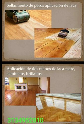 mantenimiento lacado pisos