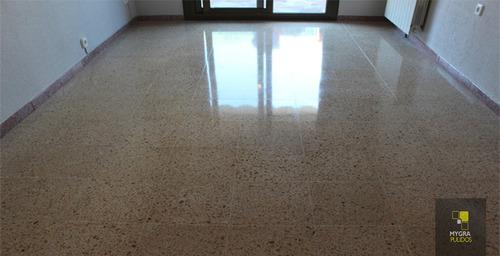 mantenimiento limpieza pulido pisos mármol granito terrazo