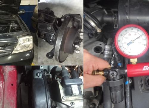 mantenimiento mecánico automotriz, servicio a domicilio