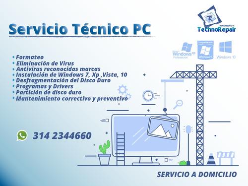 mantenimiento pc-computadores