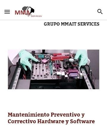 mantenimiento pc preventivo/correctivo guadalajara mma it
