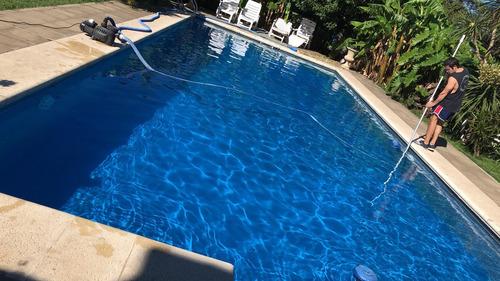 mantenimiento piscinas limpieza
