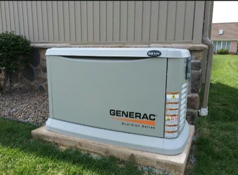 mantenimiento planta eléctrica generac