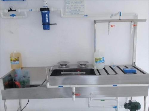 mantenimiento plantas purificadoras agua