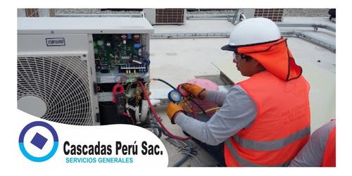 mantenimiento preventivo aire acondicionado,refrigeracion,