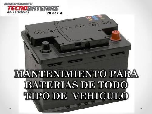 mantenimiento preventivo para baterias de todo tipo de carro