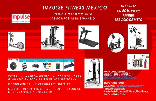 mantenimiento preventivo/correctivo equipos de gimnasio gym