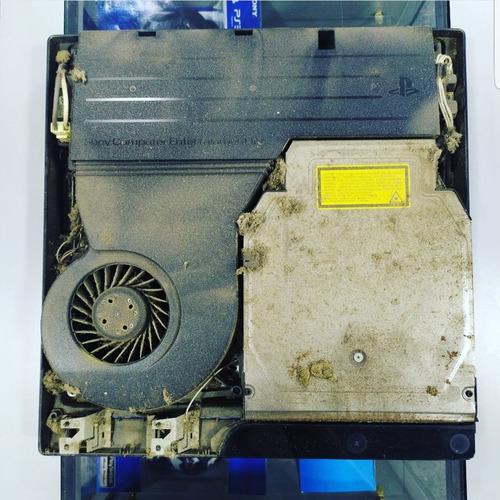 mantenimiento profundo y cambio de pasta termica