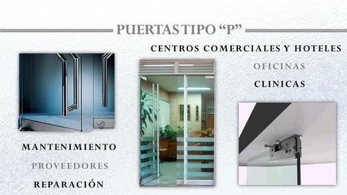 mantenimiento puertas hidraulicas de vidrio glassminium