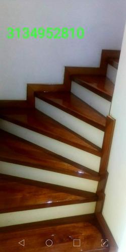 mantenimiento  pulida lacado de pisos  madera escaleras deck