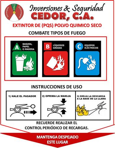 mantenimiento recarga y venta de extintores pqs