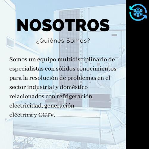 mantenimiento refrigeración industrial y comercial