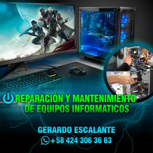 mantenimiento! reparación de equipos informaticos
