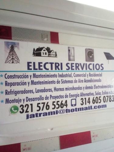 mantenimiento, reparación y construcción eléctrica  general