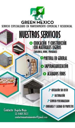 mantenimiento residencial y comercial.