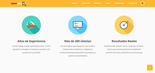 mantenimiento, soporte, rediseño de website y portales