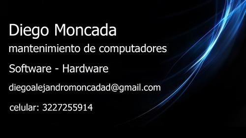 mantenimiento y arreglo de computadores todo tipo
