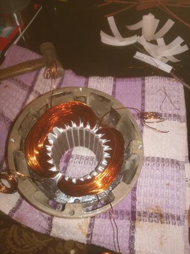 mantenimiento y bobinado de motores