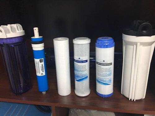mantenimiento y cambio de filtros purificadores de agua