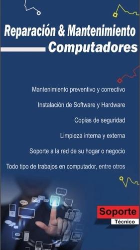 mantenimiento y configuración de computadores a domicilio